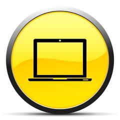 Black Laptop icon
