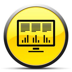 Black Computer Monitor icon