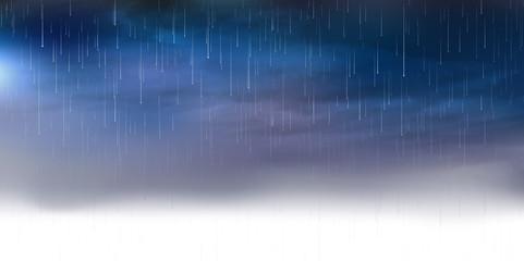 雨 空 背景