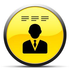 Black Businessman icon