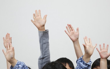 子供達の手