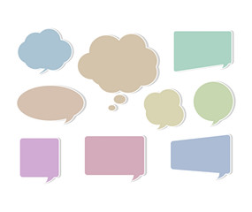 Paper Speech Bubble2