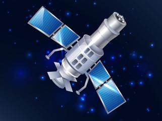 satelite in space