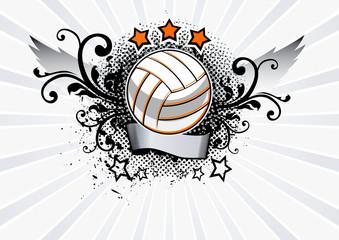 Volleyball Emblem