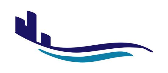 wave building logo