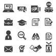 job icon set - 81843318