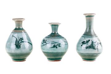 Three little pots