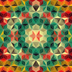 Colorful Triangle Pattern