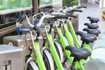 public bicycle rent