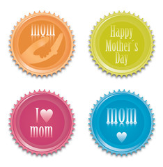 Mothers day icons