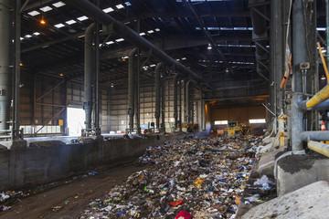 Garbage disposal plant
