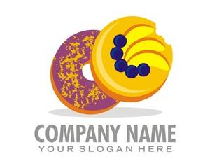 donnut sinker logo image vector