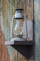 Retro kerosene lamp