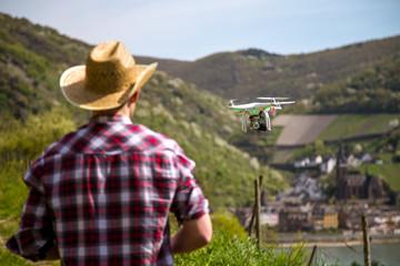 Drohnen Selfie