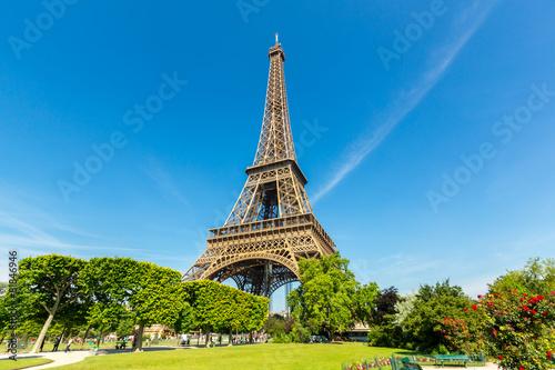 Foto op Canvas Historisch mon. Eiffel Tower