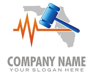 justice hammer florida image vector
