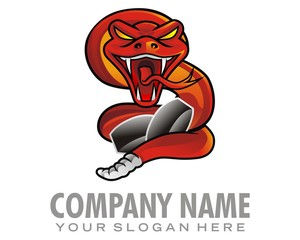 snake creak logo image vector