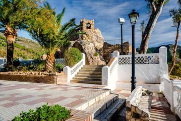Shrine to the Virgin of the Rock in Mijas. Spain