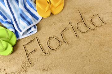 Floida beach background