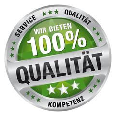 Wir bieten 100% Qualität - Service, Qualität, Kompetenz