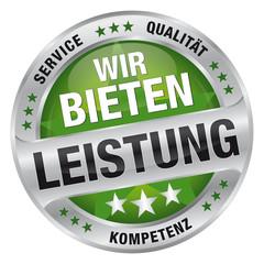 Wir bieten Leistung - Service, Qualität, Kompetenz