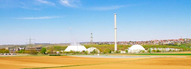 Kernkraftwerk Neckarwestheim - Panorama