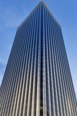 Picasso tower in Madrid, one of the tallest buildings in Madrid