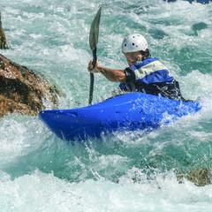Abenteuer im Wildwasser