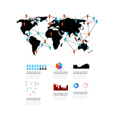 World elements of infographics