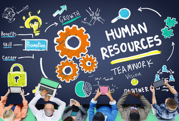 Human Resources Employment Job Recruitment Profession Concept