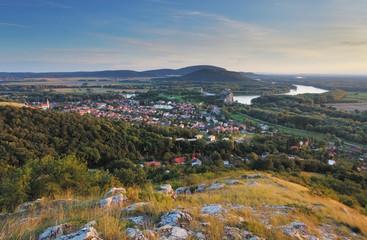 Rural landscape country in Bratislava city