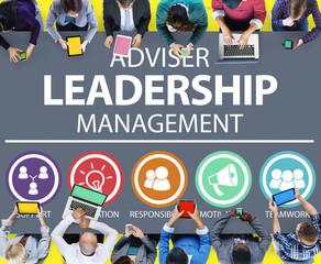 Adviser Leadership Management Director Responsibility Concept