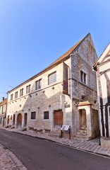 Tithe Barn (XIII c.)  in Provins France. UNESCO site