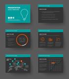 Fototapety Template for presentation slides
