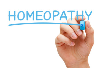 Homeopathy Blue Marker