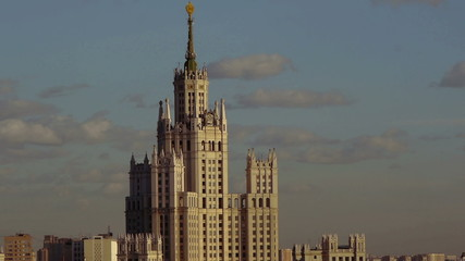 View of the Moscow roof