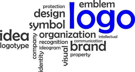 word cloud - logo