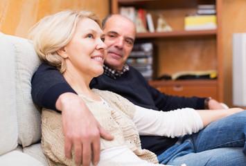 Pensioners enjoying company of each