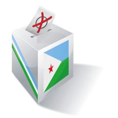 Wahlbox Dschibuti