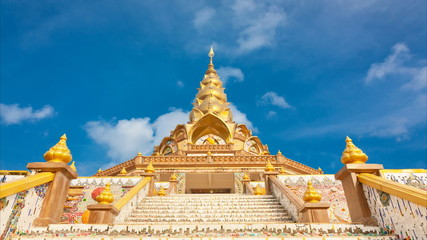 Tenple on daylight in Thailand Asia