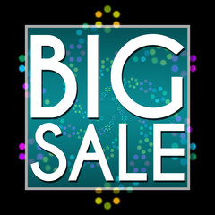 Big Sale Black Colorful Neon