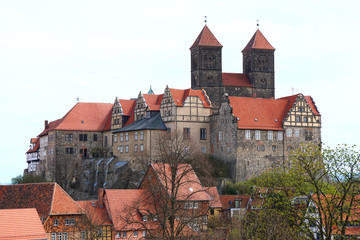 Quedlinburg castle