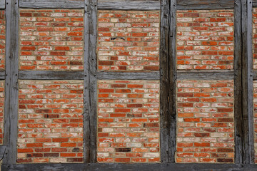timber frame wall background