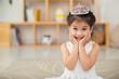 Leinwanddruck Bild - Little princess