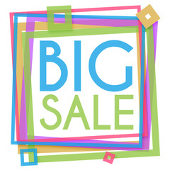 Big Sale Colorful Frame