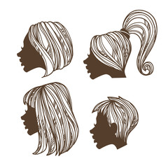 vector beauty hand drawn images
