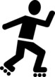 Roller Skates Pictogram - 81869511