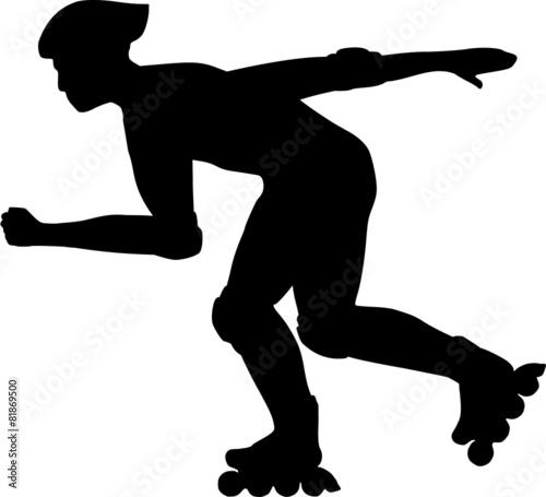 Inline Skater Silhouette