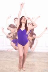 young girl, ballerina