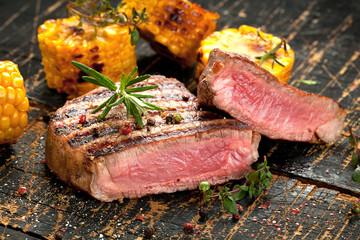 Filet steak vom Grill
